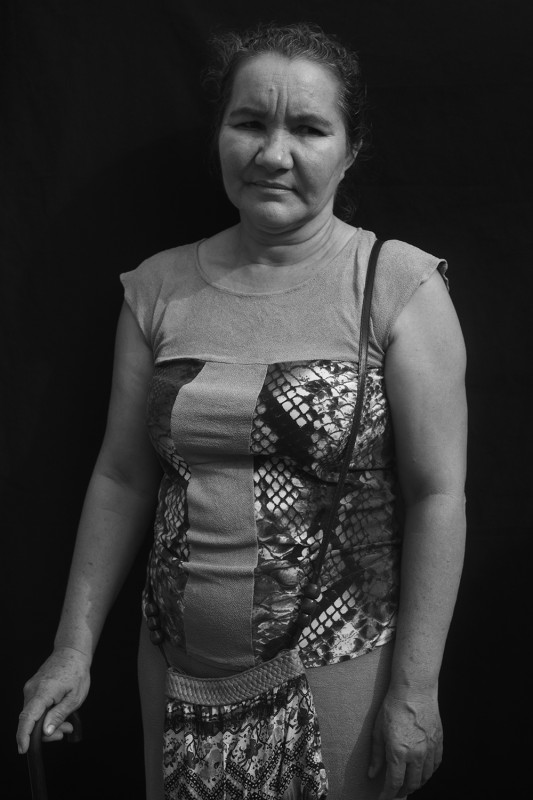"Leticia left her home in 1991, along with the rest of the pueblo, after paramilitaries killed her brother. She has worked every day since in El Carmen de Bolívar at a job that never put away ""401K"" or retirement funds for her. She has just quit and will start somewhere new, again."