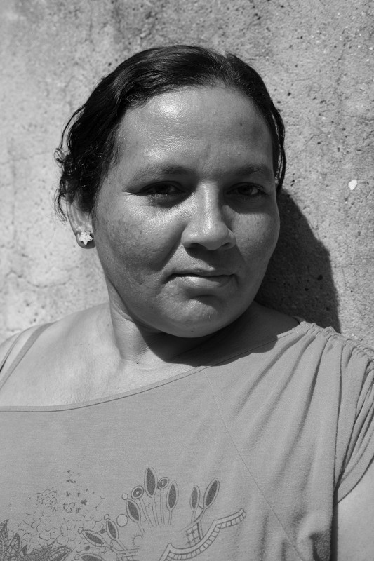 "Omayra, 39, is part of the League of Displaced Women (""La Liga de Mujeres Desplazadas""), who, over the course of several years and with the partial backing of a US Grant under the vision and leadership of human rights lawyer Patricia Guerrero, built 100+ houses for and with other women who were facing very uncertain futures as victims of internal displacement from all over Colombia. This community (built for and by women) was the first of its kind and set an example of female and ""victim"" empowerment in the country. One of the former members of La Liga is overseeing a similar project in Turbaco, a city 40 km south of Cartagena."
