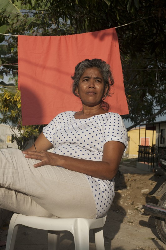 La Doña Marina, an original member of La Liga, has taken what she learned from building these houses in Bonanza, and is now overseeing the construction of 130 new viviendas for more women in need outside of Turbaco, called Villa Mayra.